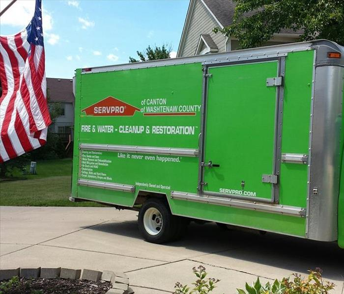 Community SERVPRO in action